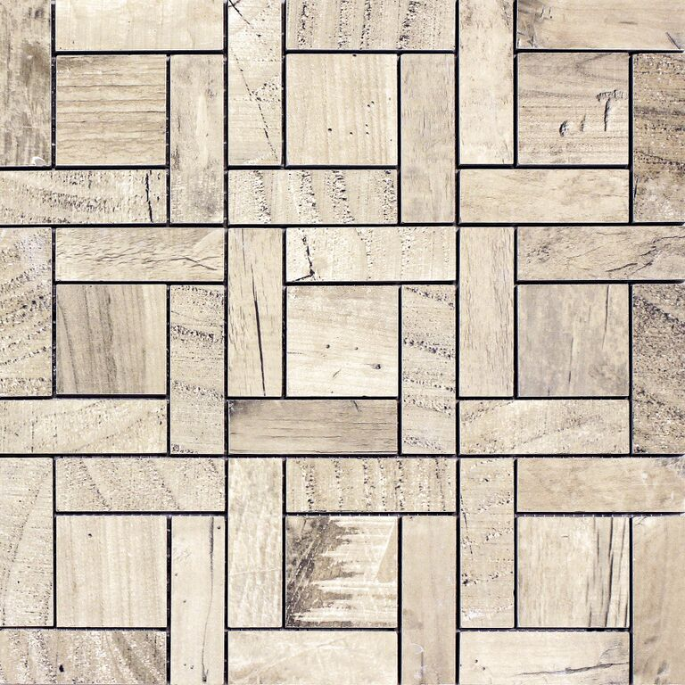 Chalet Natural Oak Mosaic Fylde Tiles