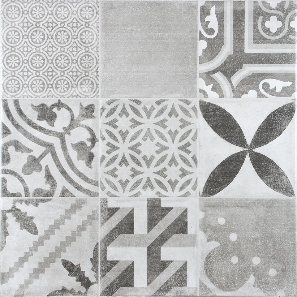 Vintage Grey Floor Tile Fylde Tiles