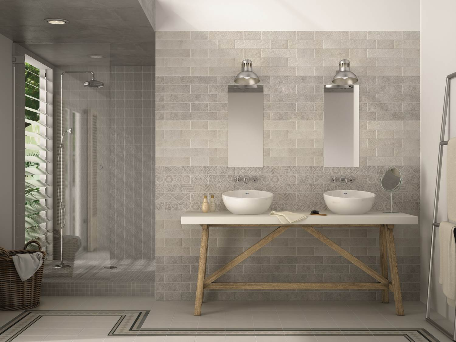 Bexley grey wall tile fylde tiles for Modele de faience