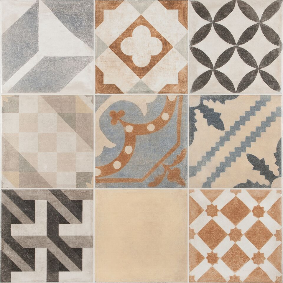 Vintage Mix Floor Tile