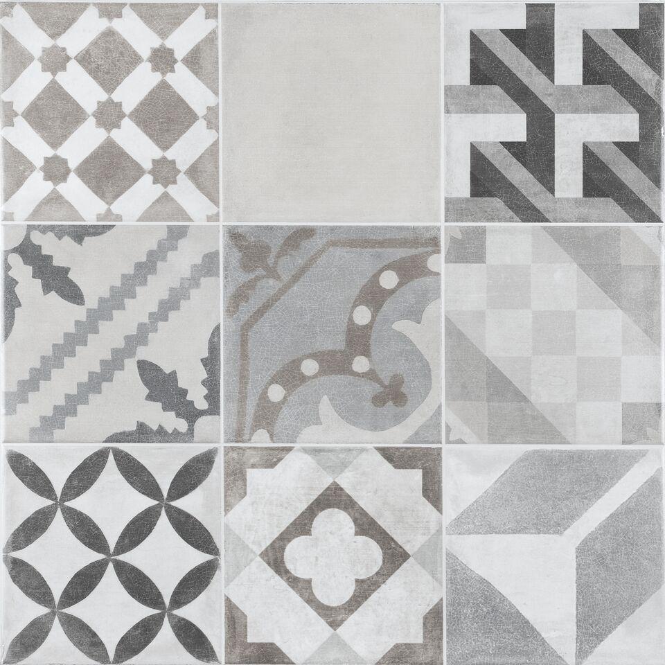 Unique Grey Floor Tile