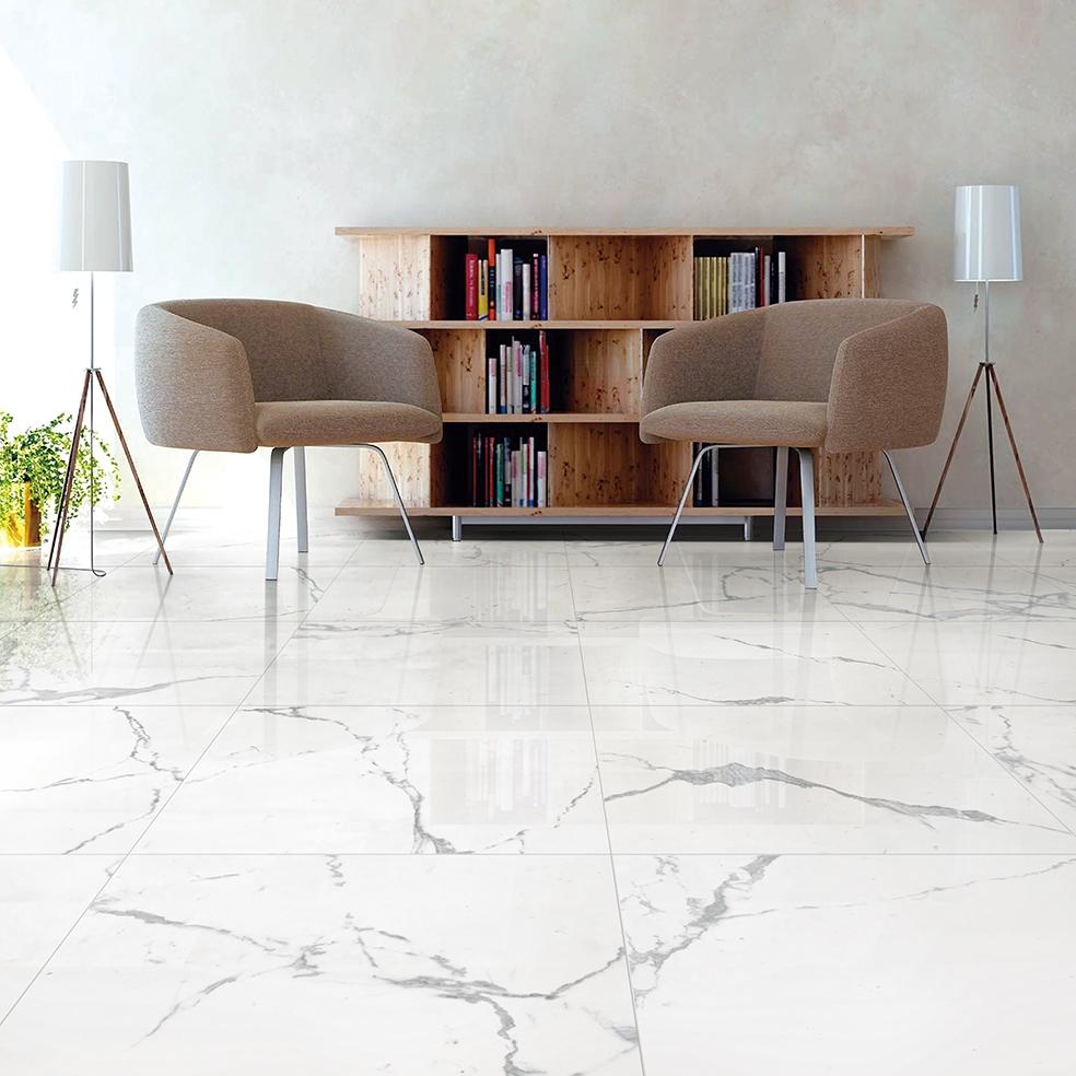 Pietra statuario polished 60x60cm wall or floor tile fylde tiles photos dailygadgetfo Gallery